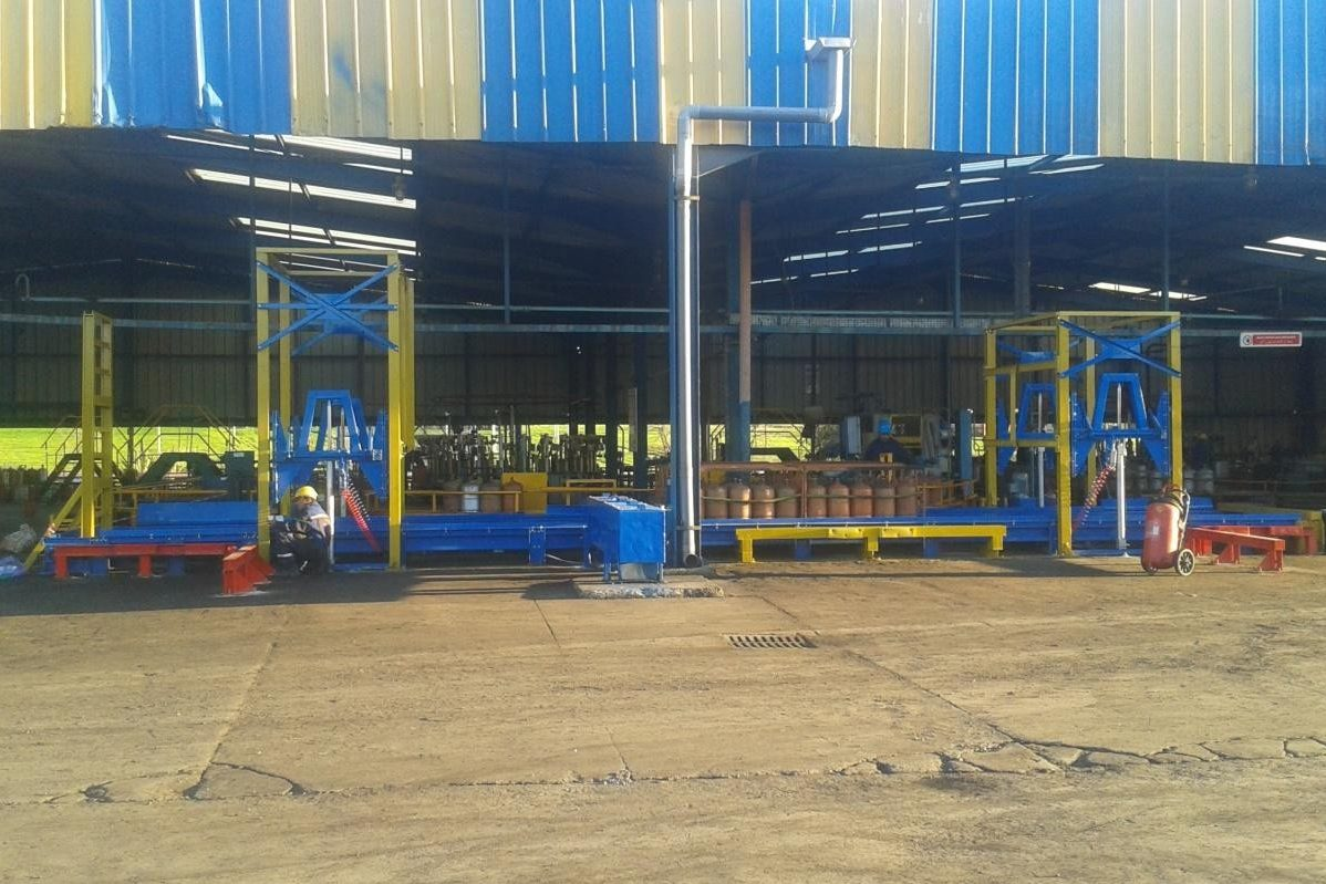 Manufacture And Installation Of Maghreb Gas Stacker